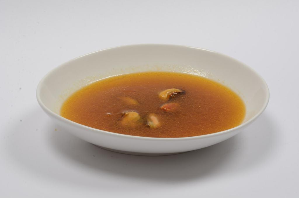 Sopa de mejillones prandium