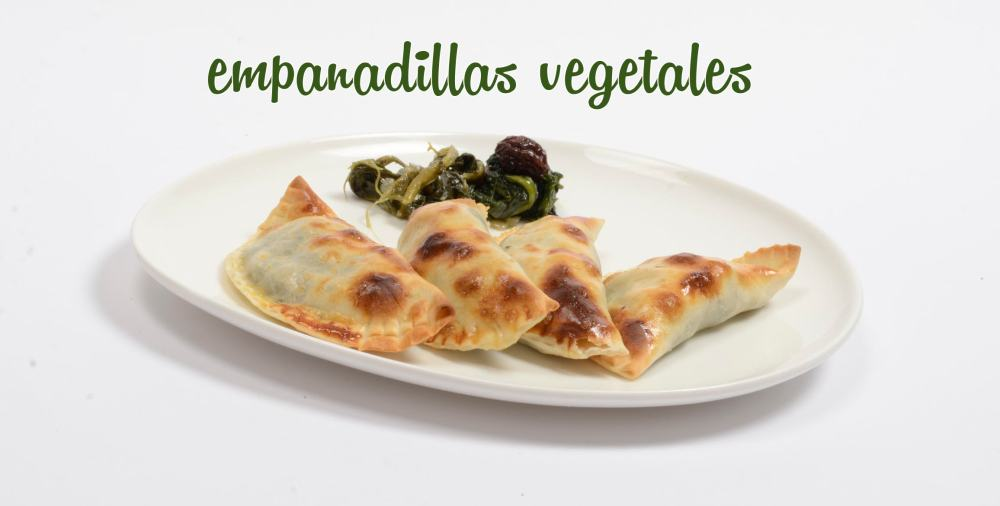 empanadillas vegetales al horno NO FRITAS