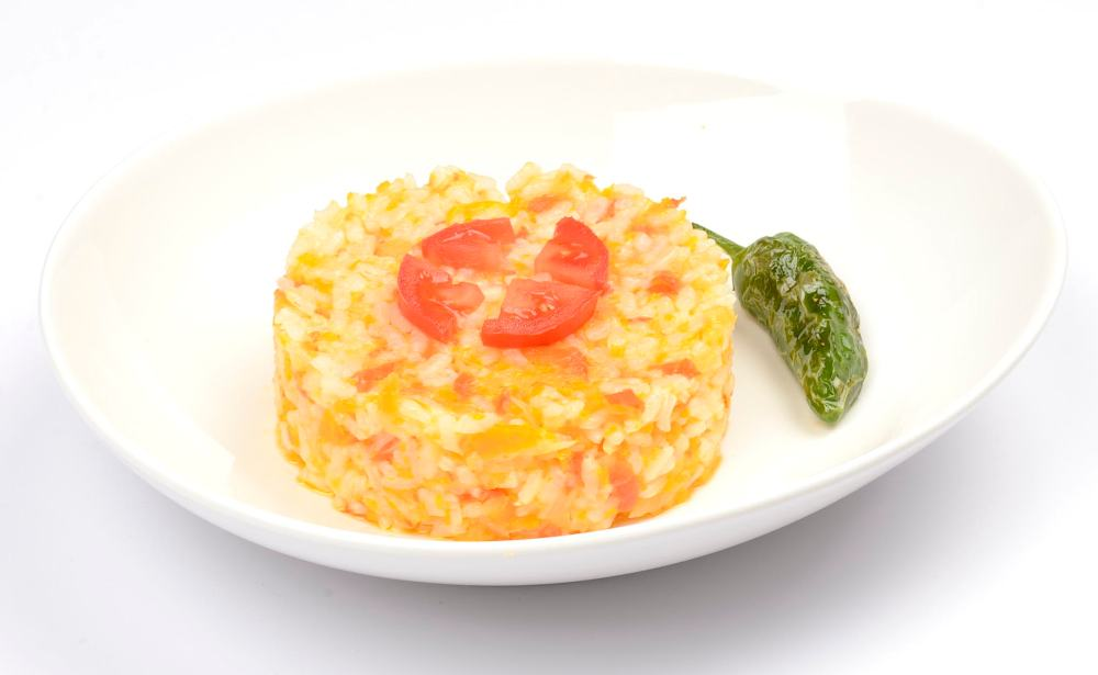 Salteado de arroz con verduras