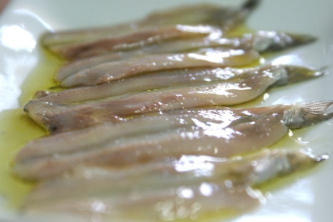 Boquerones en vinagre y aceite