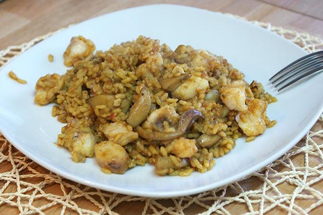 arroz del señoret o arroz sin cáscaras